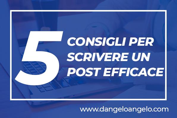 5 consigli che ogni social media manager politico dovrebbe seguire per scrivere un post efficace