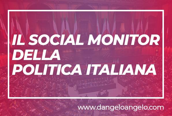 Social monitor politica italia - YouTrend
