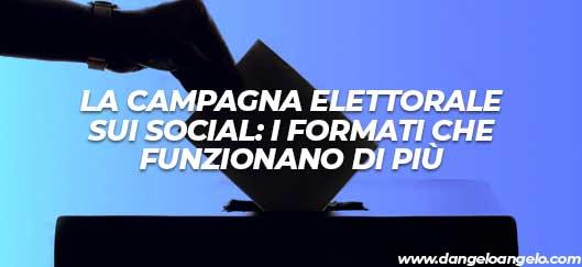 La campagna elettorale sui social: i formati che funzionano di più